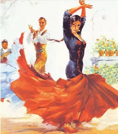 塞维利亚的舞步永远奔放有力