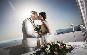 我的浪漫希腊婚礼