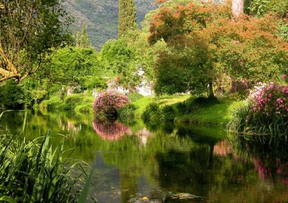 在最浪漫的花园当一天的精灵