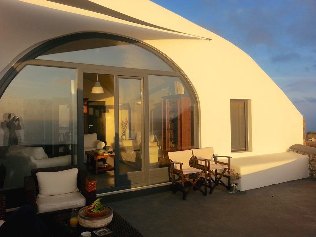 圣托里尼岛上的别墅