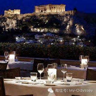 晚餐您将在一家卫城景观餐厅享用浪漫双人晚餐