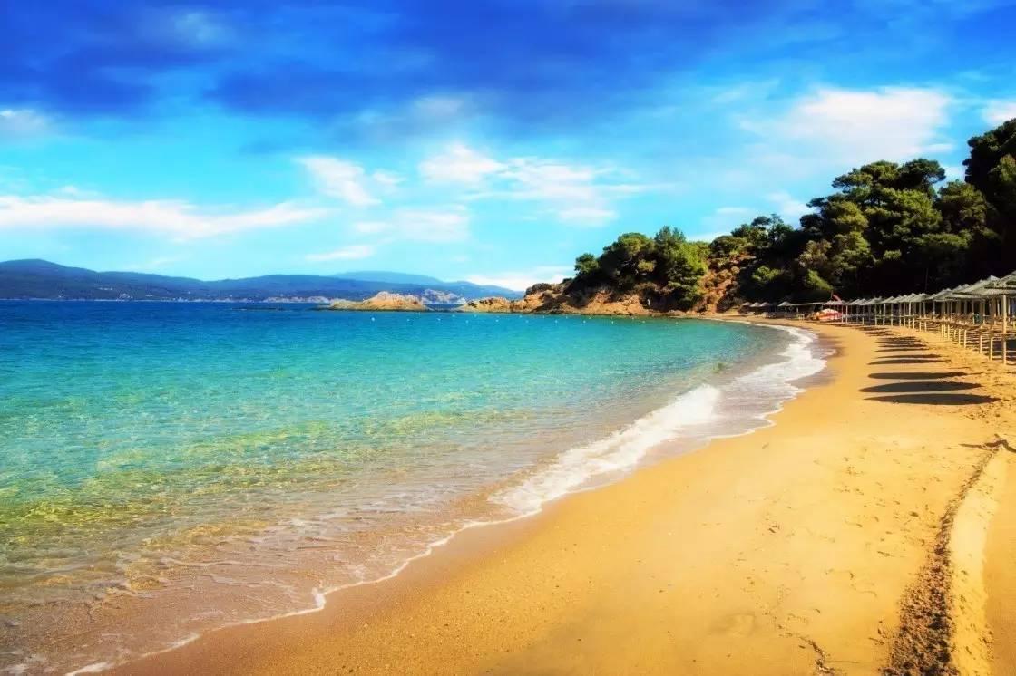 阳光、海滩