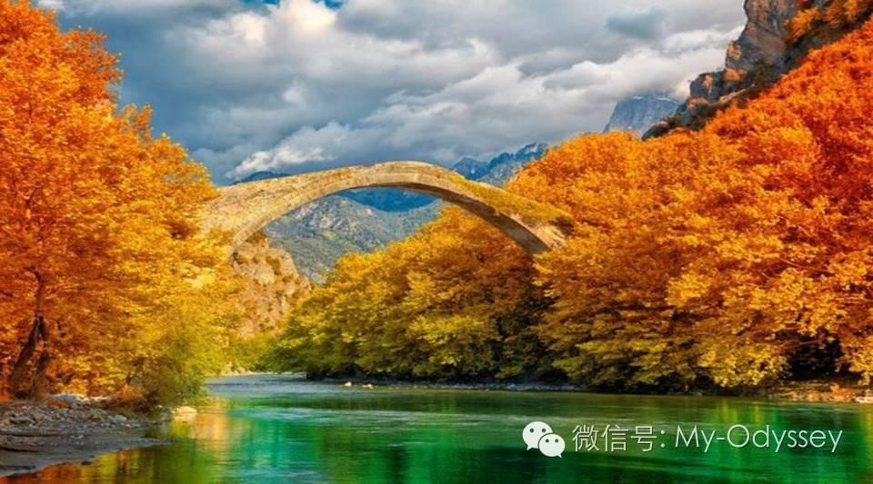 在希腊,秋天是最美的季节