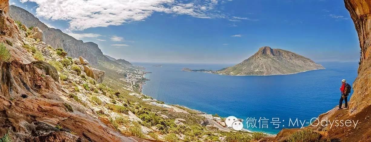 卡利姆诺斯岛成为希腊的攀岩圣地