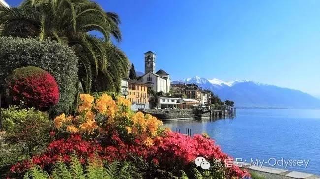 马焦雷湖全世界最美的地方