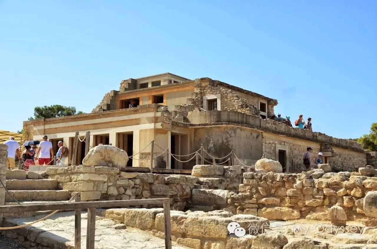 米诺斯宫殿遗址