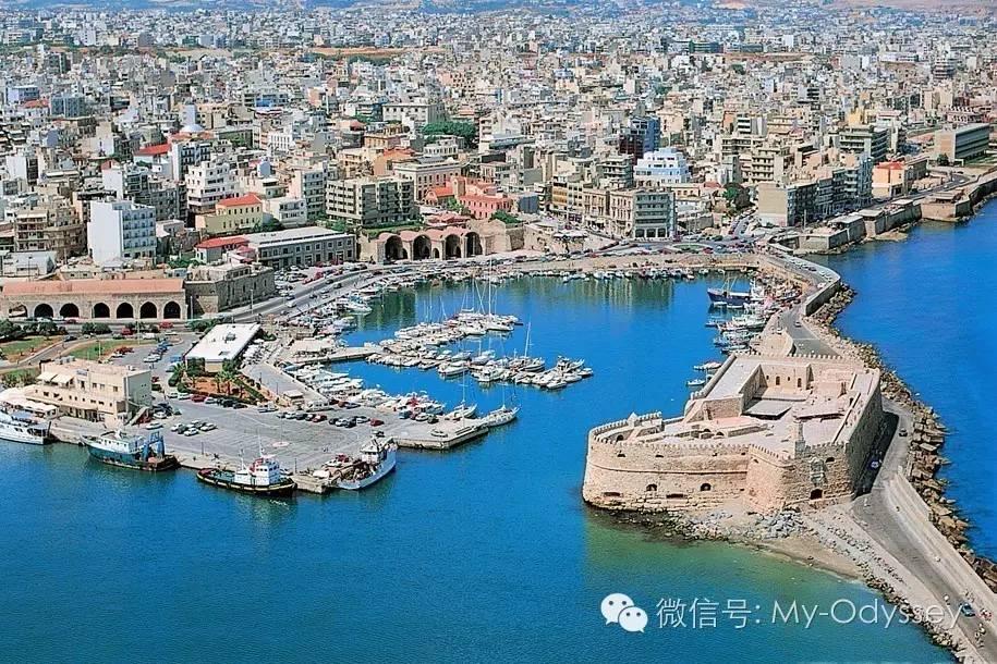 伊拉克里翁繁荣的海港城市
