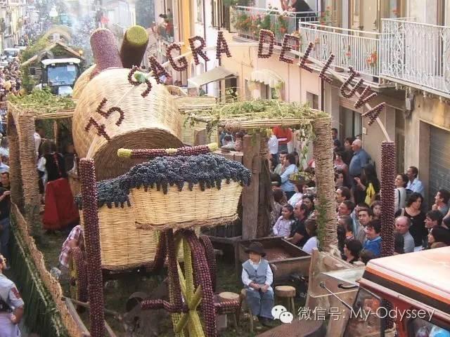 意大利丰收的节庆Sagre