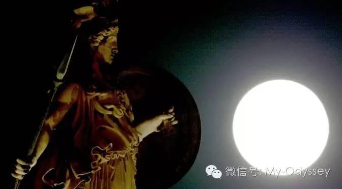 希腊中秋月亮节