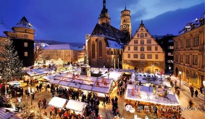 欧洲的圣诞节