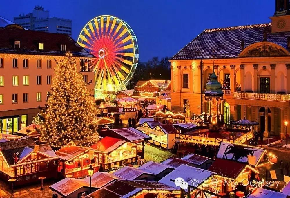 圣诞 | 你想去哪里感受最浓的气氛?