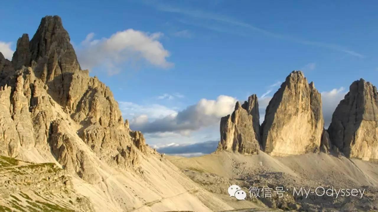 多洛米蒂山(Dolomites)