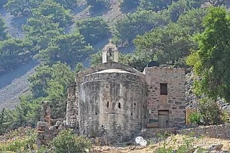 古老的撒玛利亚村庄