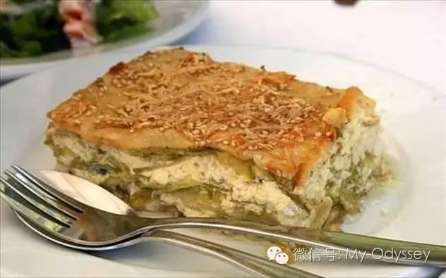 哈尼亚夹层饼