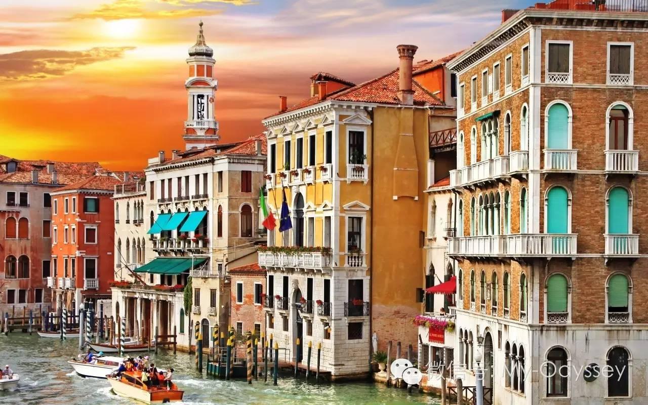 威尼斯正渐渐离我们远去