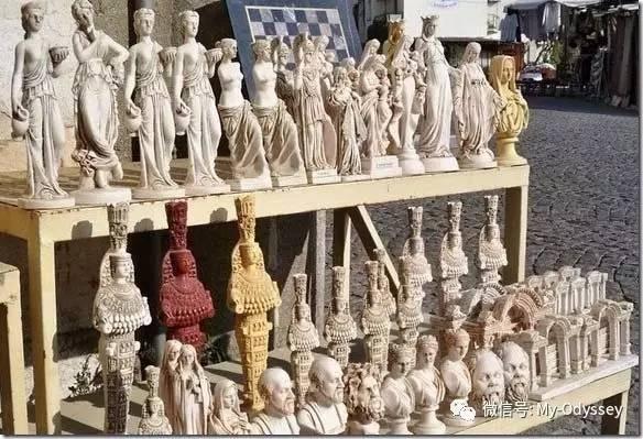 希腊精美的雕塑品