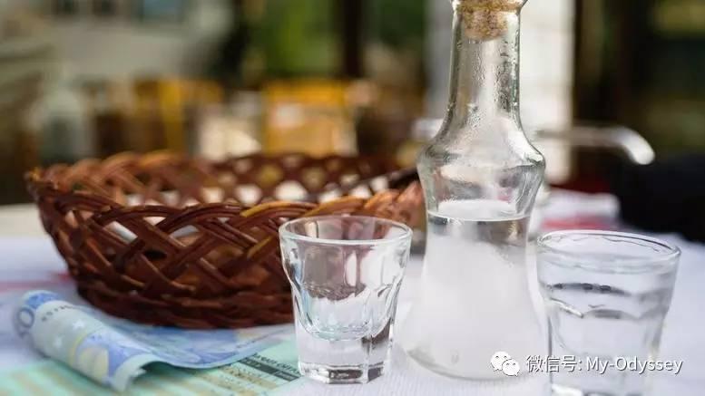 希腊各色的酒