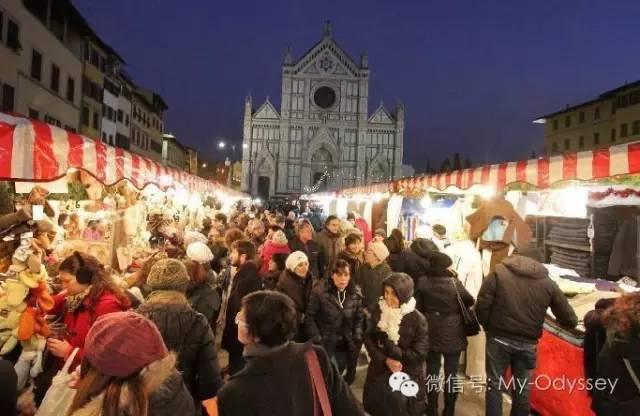 圣十字广场(Plaza de Santa Croce)圣诞集市
