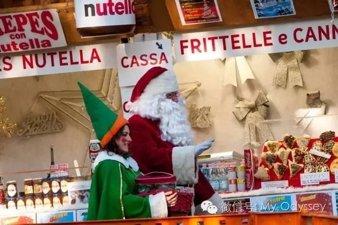 城堡广场(Piazza Castello)圣诞集市