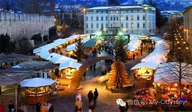 圣诞期间最棒的活动就是逛各式各样的集市
