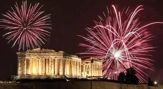 希腊 · 雅典(Athens):卫城音乐会+烟花