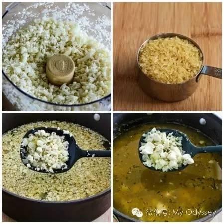鸡蛋柠檬鸡米粥(Avgolemono Soup)