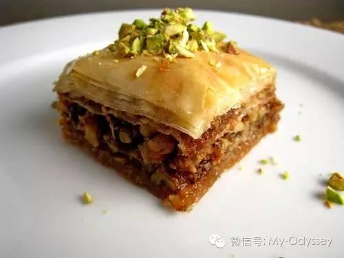 芝麻果仁蜜饼(Sesame Baklava)