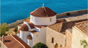 希腊中世纪古城蜜月之旅