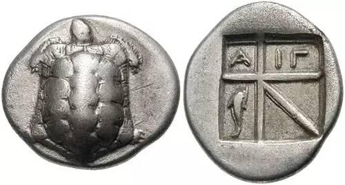 欧洲的首枚银币