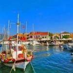 迪丽热巴希腊私密双岛之旅 第2天